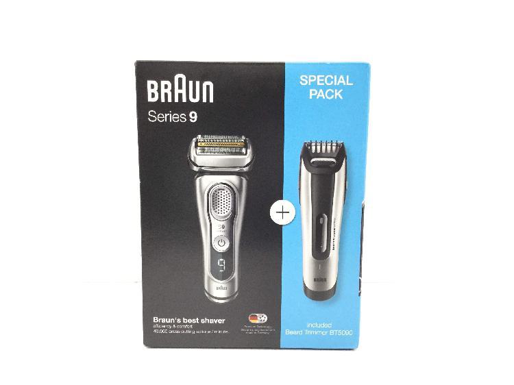 Afeitadora electrica braun series 9 special pack
