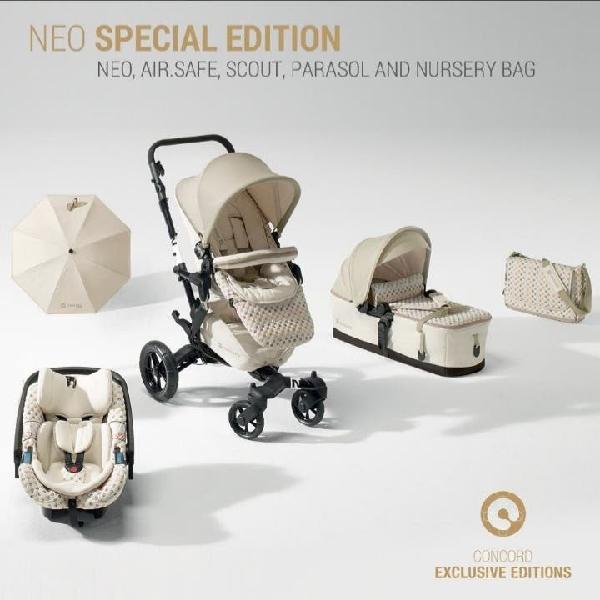 Carro de bebe trio concord neo