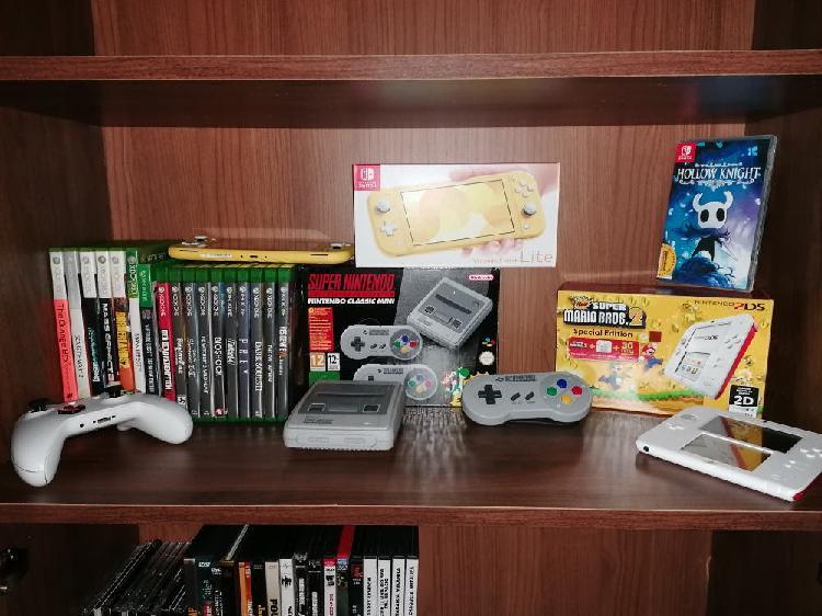 Colección xbox y nintendo