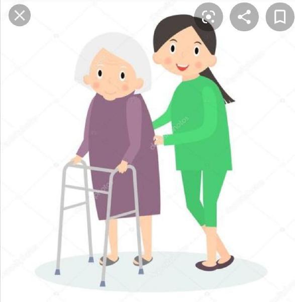 Cuidado de personas mayores y niños
