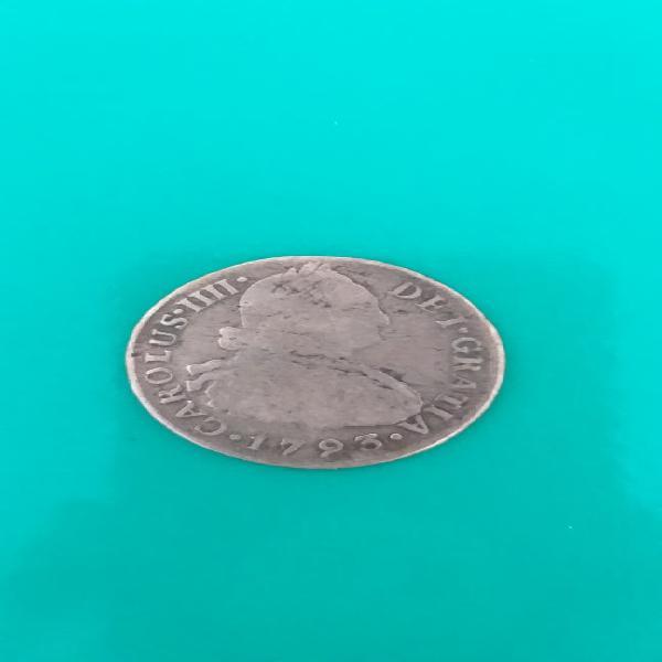 Moneda 2 reales 1793