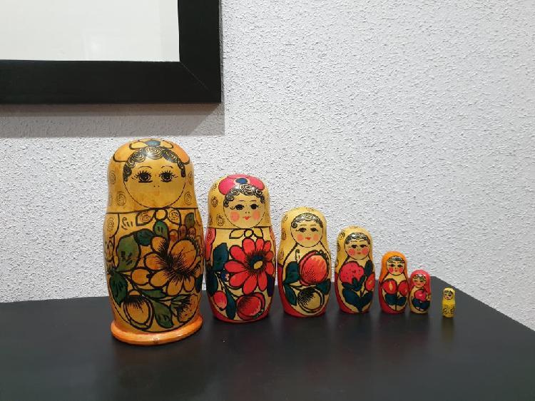 Muñecas matriosca rusa.envio wallapop gratis