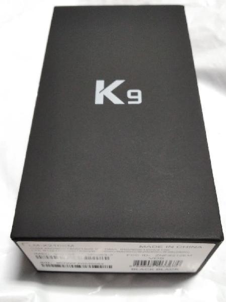Móvil lg k9 black nuevo
