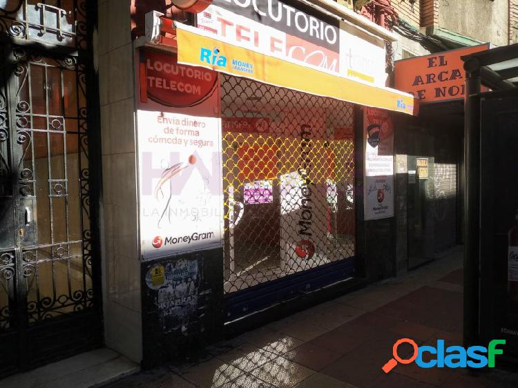 Local comercial avenida madrid