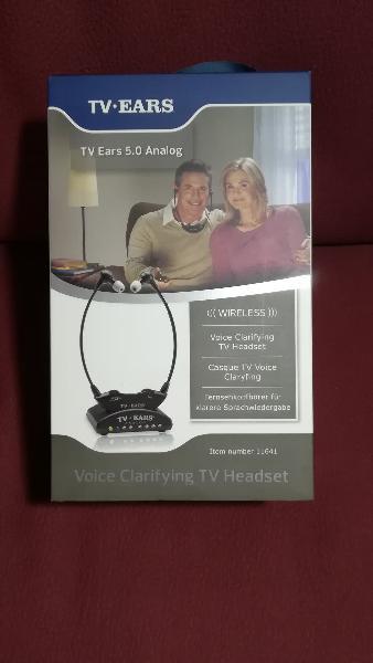 Auriculares inalambricos tv ears 5.0 analog