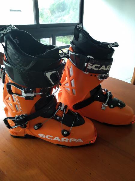 Botas esquí travesía scarpa maestrale talla 26,5