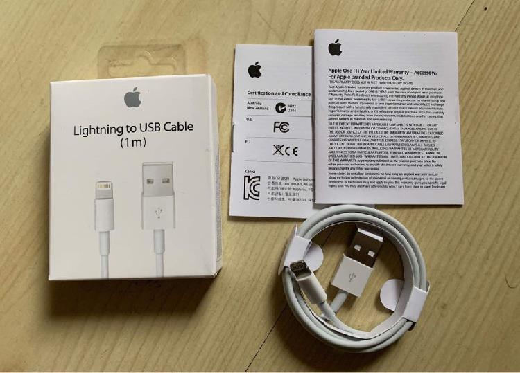 Cable de datos y carga lightning apple original