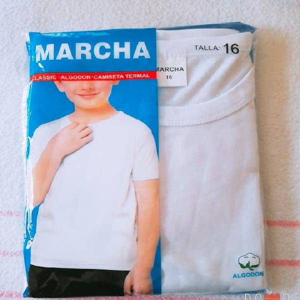 Camisetas térmicas manga corta
