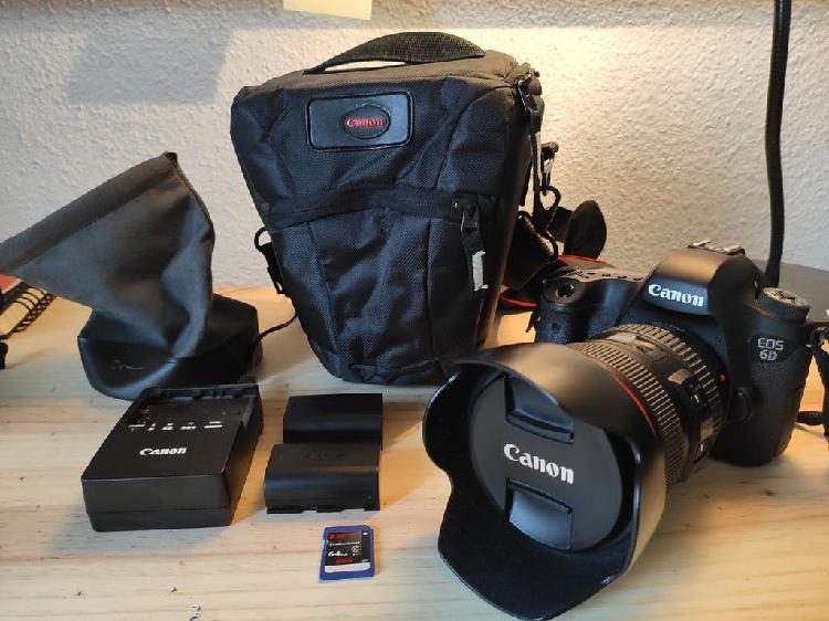 Canon eos 6d + canon 24-105 4l is usm
