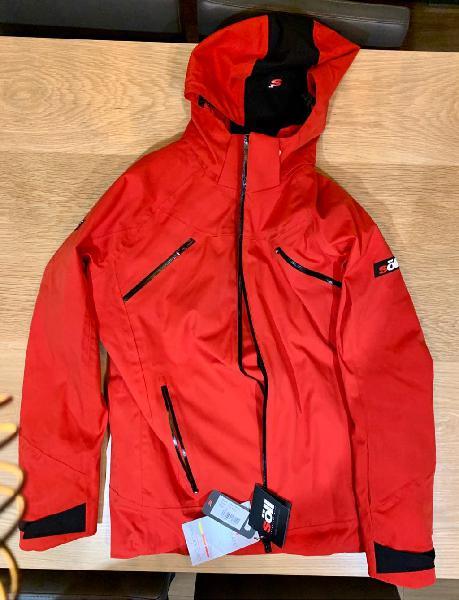 Chaqueta de esqui soll - enduro rojo - nueva m