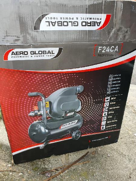 Compresor con aceite aeroglobal
