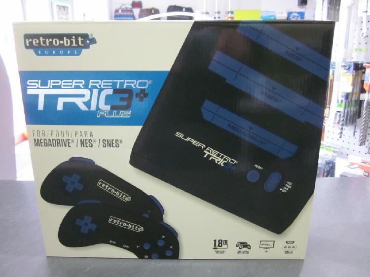Consola super retro, retro-bit trio plus hd royal