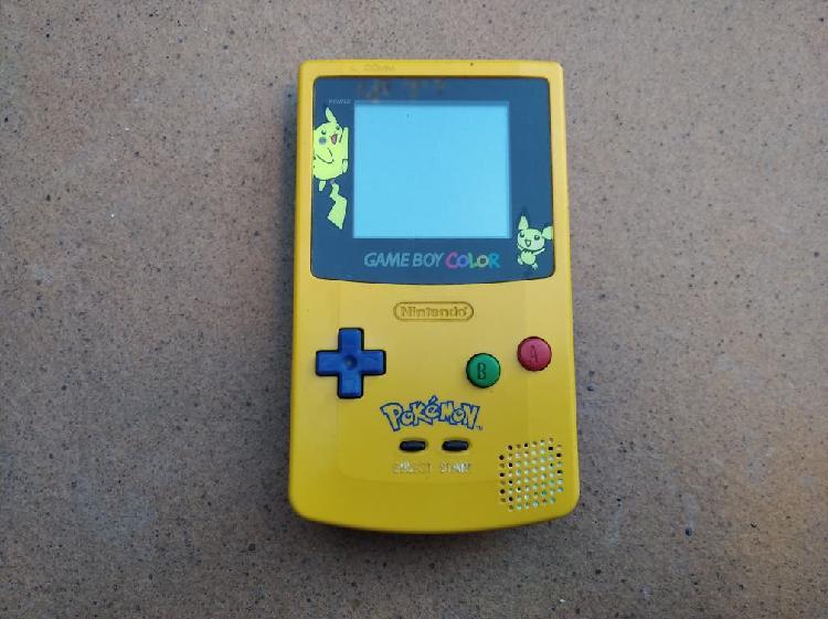 Game boy color edición pikachu pokémon coleccion