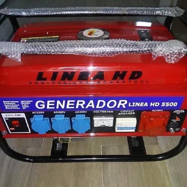 Generador de luz gasolina 5.500w