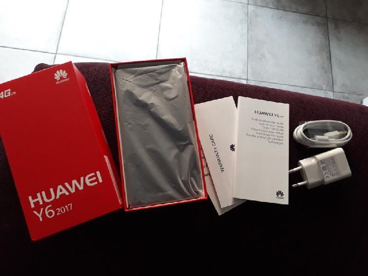 Huawei y6 libre nuevo impecable!