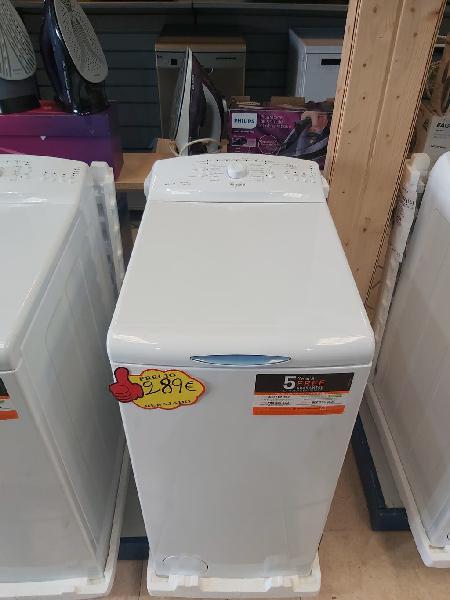 Lavadora carga superior 6k whirlpool