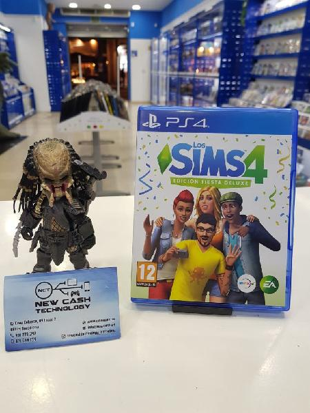 Los sims 4 fiesta deluxe ps4 impecable
