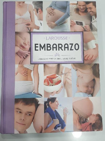Libro embarazo, lactancia larousse