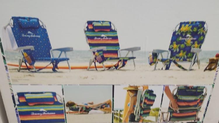 Pack de dos sillas plata tommy bahamas!