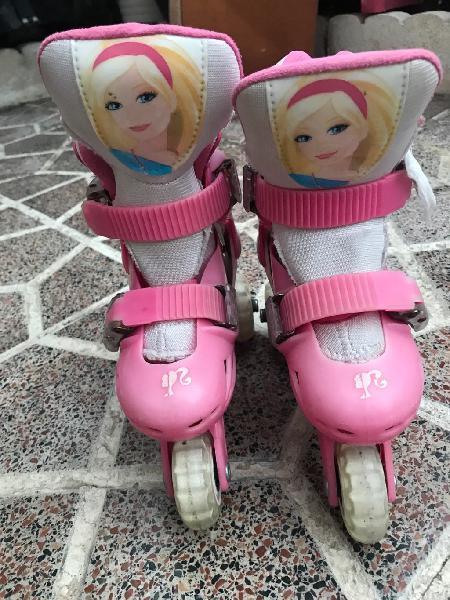 Patines barbie niña