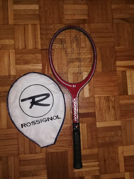 Raqueta tennis rossignol muy cuidada + funda