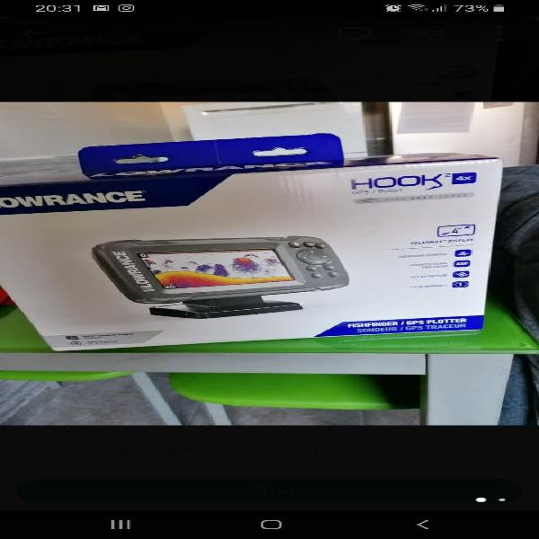 Sonda ploter lowrance hook 2 4x