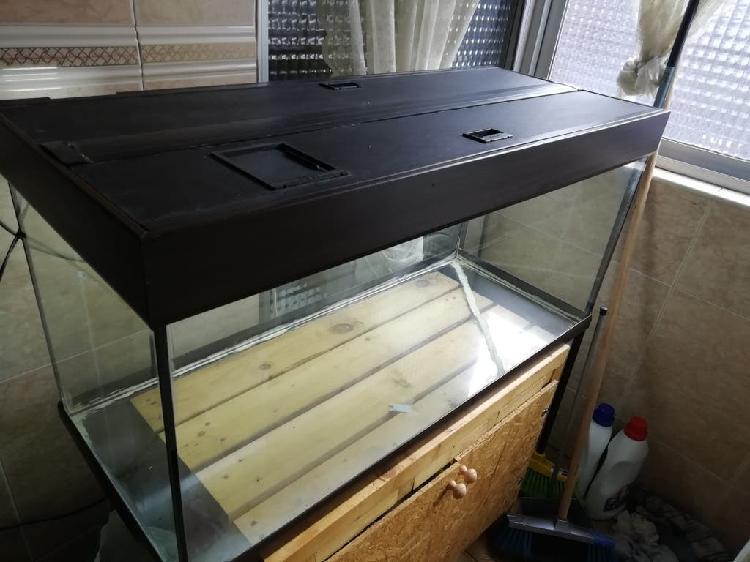 Terrario - acuario eheim 200 litros