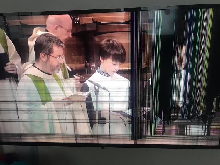 """Tv (televisor) plasma 55"""" dañado"""