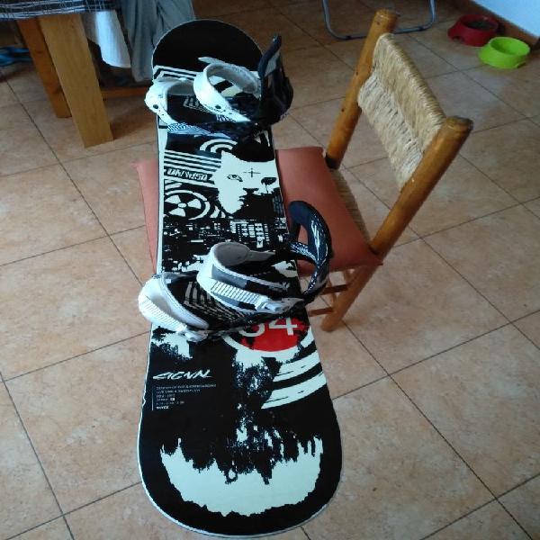 Tabla- fijaciones snowboard