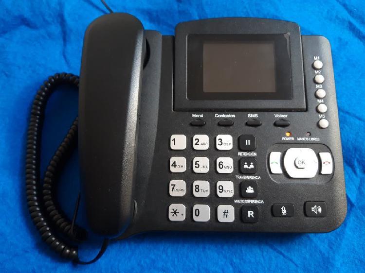 Teléfono fijo / movil neo3450 libre.