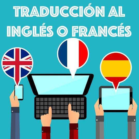 Traducción al inglés o francés
