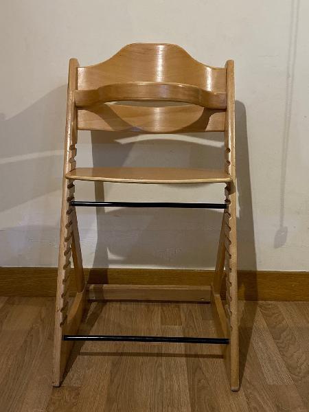 Trona madera estilo stokke