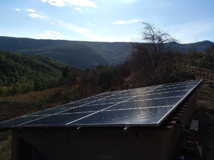 Venta e instalación energía fotovoltaica