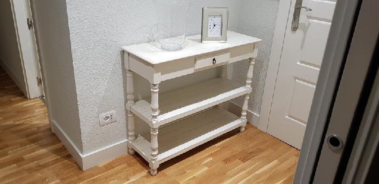 Aparador madera blanco
