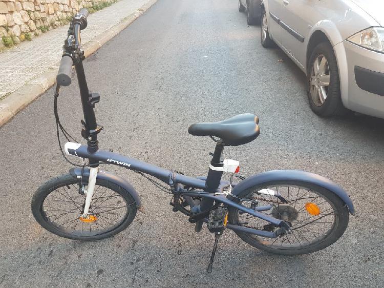 Bicicleta plegable btwin tilt 500