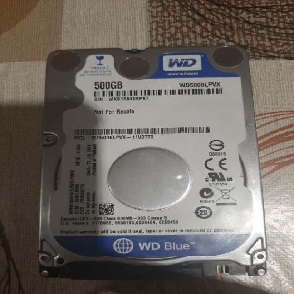 Disco duro portatil 500gb