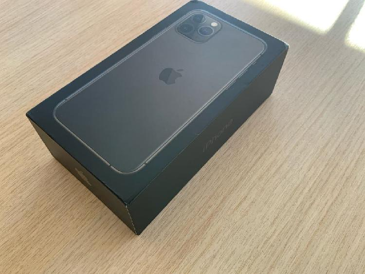 Iphone 11 pro 256gb gris estrenar factura garantía