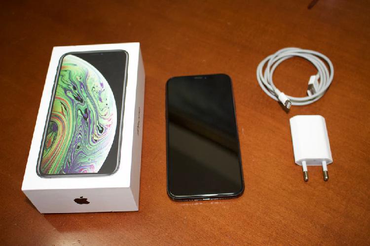 Iphone xs 256 gb - color gris espacial