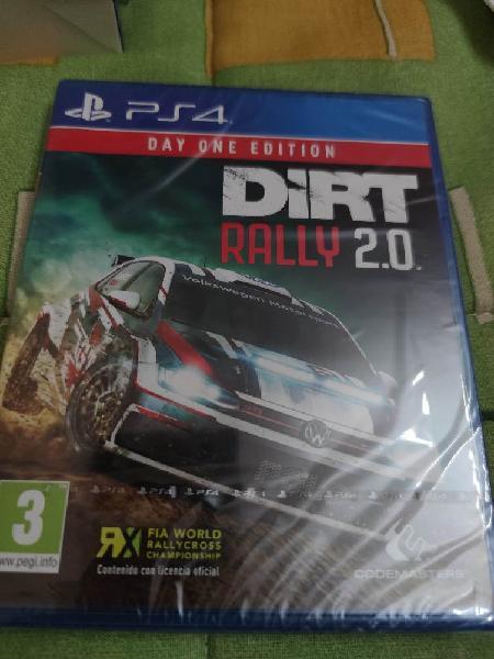 Juego ps4 dirt rally 2 . 0 nuevo precintado