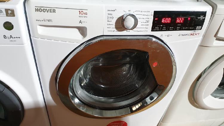 Lavadora hoover 10kg a+++ 1600 rpm