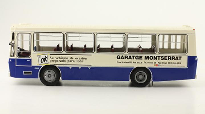Autobús pegaso 5062a 1/43 ixo salvat autobús / autocar