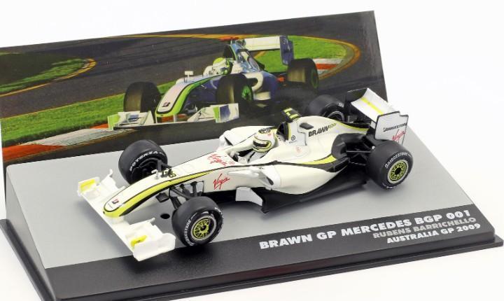 Brawn gp mercedes bgp 001 formula 1 australia gp (2009)