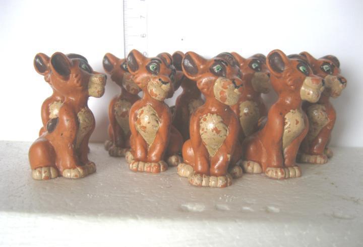 Bullyland lote de 6 leones usados los de las fotos ver fotos