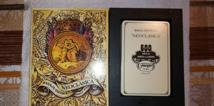 Baraja de cartas española neoclasica fournier
