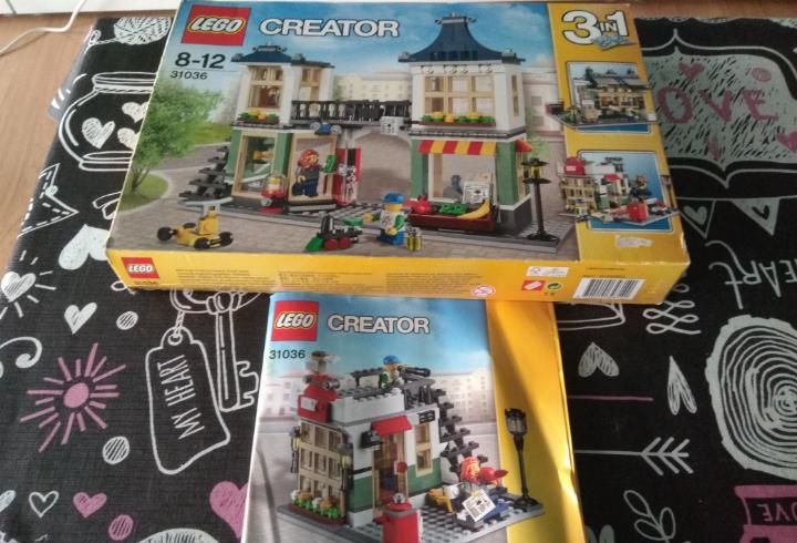 Caja vacia lego creator 31036 3 en 1