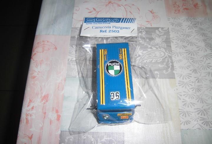 Carroceria de pinzgauer azul de sts de scalextric exin,en