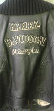 Cazadora moto harley davison
