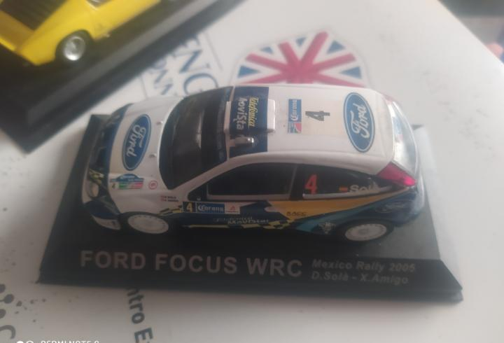 Coche colección ford focus wrc rallye rally