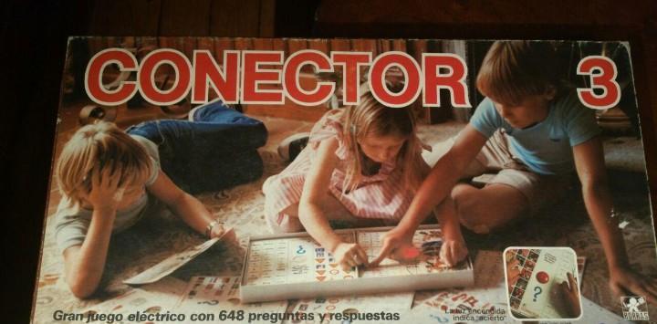 Conector 3 juego de mesa borras funcionando