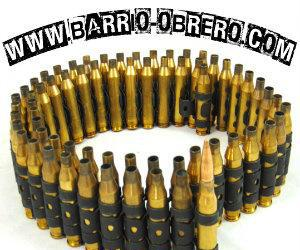 Cinturones de balas color dorado. contra reembolso.